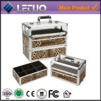 China nail artist cosmetic case nail care cosmetic cases for travel aluminum beauty case on sale
