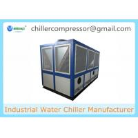 Quality 42Tons Air Cooled Water Chiller for Dairy Processing Milk Cooling for sale