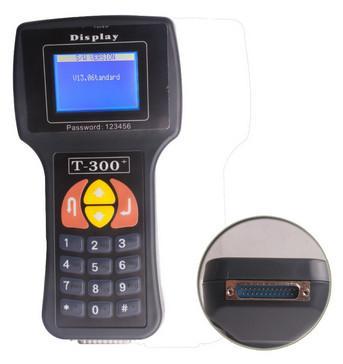 Buy Handheld Forklift Diagnostic Tools T300 Key Programmer English 9.99V at wholesale prices