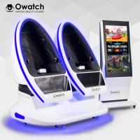 Quality Owatch-Varied Special Effects Double Seats VR DPVR E3 (2K) Glasses VR Cinema Amusement Equipment 9D VR Chair for sale