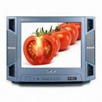 China 14-inch Color CRT TV with Twin Speakers and Full Function Digital Remote Control on sale