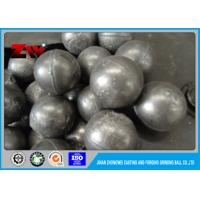 Quality Good wear-resistance high chrome cast iron grinding steel ball ISO9001-2008 for sale