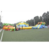 Quality Waterproof Commercial Water Inflatable Theme Park With Plato PVC Tarpaulin for sale