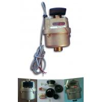 Buy cheap Volumetric Plastic Dry Dial Piston Water Meter Remote Reading , Class C from Wholesalers