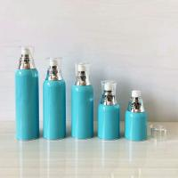 Quality 15ml 30ml 50ml 60ml 100ml Acrylic Lotion Cosmetic Bottle With Collar In ShinySilver for sale