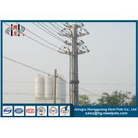 Buy cheap Yixing Steel Octagonal Anti-corrosive Power Transmission Pole Q345 from wholesalers