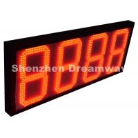 "Quality 8888 Outdoor LED Signs for Gas Station with Red 12"" Size Meanwell Power Supply for sale"