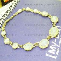 Quality Fashion Jewelry Alloy with Crystal Necklace Ljh0038 for sale