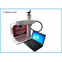 Quality 20 W Small Fiber Laser Marking Machine With 110*110mm Working Area Sino Galvo Head for sale