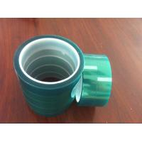 Quality Polyester solicone green tape for masking for sale