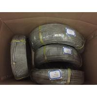 Quality SAE100 R1 4 Braided PTFE Braided Hose for Hydraulic Oil Corrguated Surface for sale