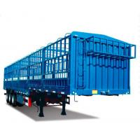 Quality SINOTRUK 50t CANG-GATE Heavy Duty Semi Trailers Flatbed With Side Wall Cargo Transport for sale