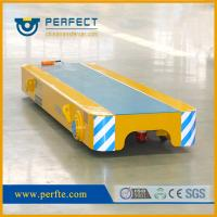 Quality 5 tons low valtage rail powered  trolley trailer as transporter used in factory for sale