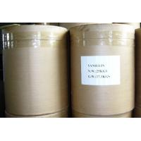 China Food Additive Flavoring agent Natural Vanillin powder from China on sale
