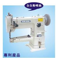 China cylinder single needle compound feed lockstitch sewing machine on sale