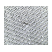 Quality CE Expanded Metal Wire Mesh , V groove Diamond Mesh Metal Lath for sale