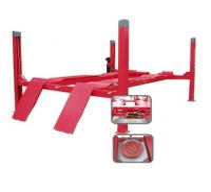 Quality Launch TLT440 Wheel Alignment Four Post Auto Car Lift for sale