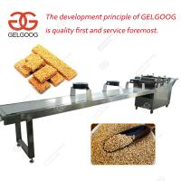 Quality High Quality Automatic Muesli Bar Sesame Candy Bar Making Machine for Business for sale
