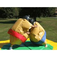 Quality Sumo Wresting Inflatable Amusement Park , Inflatable Carnival Games for sale