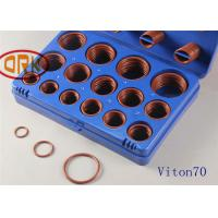 Quality Customized FKM O Ring Kits Low Temperature Resistant ±15 Volume Change for sale