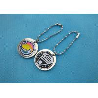 China Brass Material Die Stamped Personalised Dog Tags Bag Dangle For Business Gift on sale