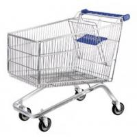 Quality 120L Supermarket Shopping Trolleys Plastic Trolley Series HBE-P-2(120L) for sale