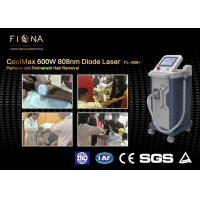 600W Professional Diode Laser Hair Removal Machine 808nm Wavelength 60Hz