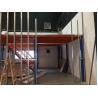 Buy cheap Project Heavy Duty Storage Racks Steel Mezzanine Floor For Carton from wholesalers