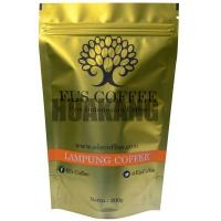 Quality Food Grade Gold Coffee Packaging Bags Aluminum Materials 9 Colors Printing for sale