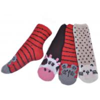 China Warm spa aloe infused socks for men polyester plush therapy SSP-20 on sale