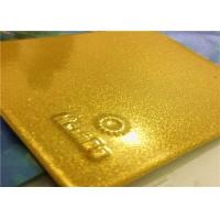 Quality Bonded Metallic Gold Powder Coat With High Exterior Stability And Performance for sale