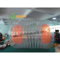 China Rent Human Inflatable Bumper Ball , Commercial Roll Inside Inflatable Ball on sale