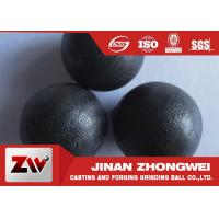 Quality High Performance Casting Steel Precision Steel Balls For Cement Plant for sale
