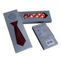 Quality Tie Bag 250gsm Paper Custom Gift Boxes Folded Environmental Friendly for sale