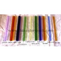 Quality Borosilicate Colored Glass Tube and Rod for sale