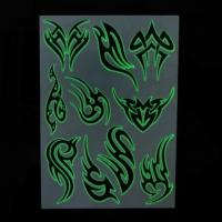 Quality Glow in the dark fake tattoo for sale