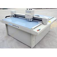 Quality Video registration system carton box sample maker cutting machine for sale