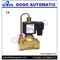 Quality Pilot Diaphragm Type Pneumatic Solenoid Valve with 5 Mpa High Pressure , DC 12V - 24V for sale