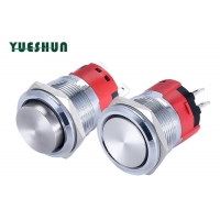 Quality 2NO 1NO 1NC IP67 22mm Push Button for sale