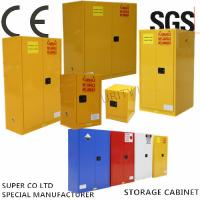 Buy cheap Vertical Drum Hazardous Flammable Storage Cabinet Fully Welded , 60 Gallon from wholesalers
