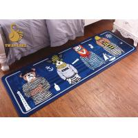 Quality Front Door Mats Outdoor / Indoor Area Rugs Washable With Custom Logo Printing for sale