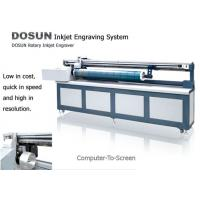 Quality Rotary Inkjet Screen Engraver System, Rotary Printing Computer to Screen Engraving Machine for sale