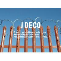 Quality Spiked Decorative Metal Palisade Security Fences, Galvanized Steel Palisade Fencing, Picket/Paling Fence Barriers for sale