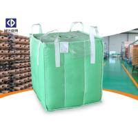 Quality Polypropylene FIBC Bulk Bags / Baffle Bag With Inner Bag Color Customized for sale