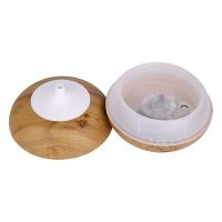 Quality 300ml Wood Grain Electric Cool Mist Ultrasonic Aroma Diffuser for sale