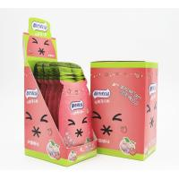 Quality 16g Cooling peach flavor Sugar Free Mint Candy in Portable Sachet Pack Vitamin C hard candy for sale