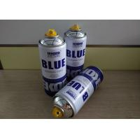 Quality Multi - Purpose Graffiti Silver Chrome Spray Can / Graffiti Spray Paint Low Toxicity Type for sale