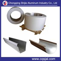 Quality 3105 3003 alloy mill finish or coated aluminum coil for gutter for sale