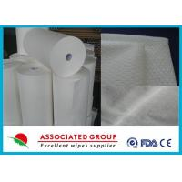 Buy Comfortable Jumbo Rolls hydrophilic non woven fabric 200 meter / Roll at wholesale prices