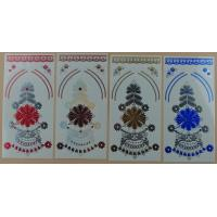 Quality Newest UV colorchanging tattoos metallic temporary tattoo sticker for sale